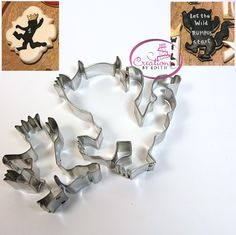 Where the wild things are cookie cutters