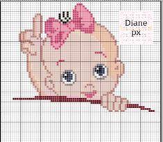 Small Cross Stitch, Cross Stitch Baby, Cross Stitch Charts, Crochet Dolls Free Patterns, Baby Patterns, Folk Embroidery, Cross Stitch Embroidery, Cross Stitch Alphabet Patterns, Pixel Art Templates