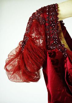 Evening Dress, detail, House of Worth, ca. 1910,