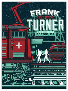 Frank Turner by Rockets are Red