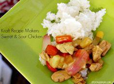 Sweet & Sour Chicken with Kraft Recipe Makers #kraftrecipemakers #shop