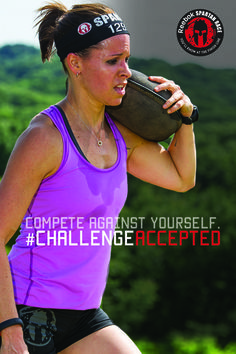 Race against the ultimate rival; yourself. Sign up and show what you're capable of. #challengeaccepted