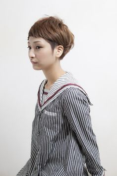 Trendy Ideas For HairStyles 2018 Really Short Hair, Girl Short Hair, Short Hair Undercut, Short Haircut, Asian Hair, Strong Hair, Hair Today, Messy Hairstyles, Hair Dos