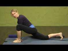 Dragon pose - Yin Yoga variation of Lizard Lunge and half hamanunasana. My second face way of working into splits.