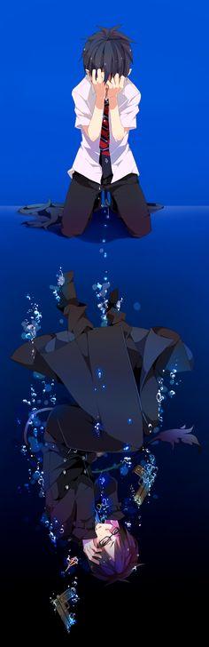 Blue Exorcist ~~ Sorrowful reflection