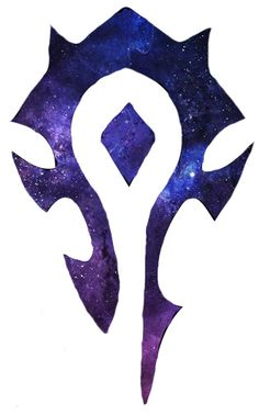 A Horde galaxy tattoo I roughly designed. I want this, with a bold outline.