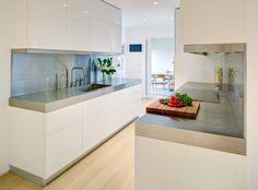 Love the minimalism #modern #kitchen