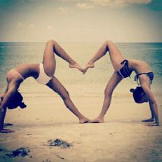 #imcouture #yoga #hearts #beach