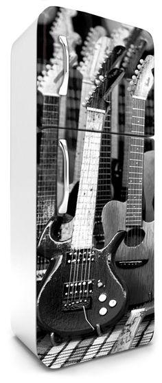 Designové fototapety - Fototapety na lednice - Fototapety na lednice Guitar Dimex FR180035, rozměry 65 x 180 cm