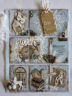 Forum Scrapbook Art et Passion Pocket Pal, Pocket Cards, Pocket Scrapbooking, Scrapbook Cards, Christmas Tag, Christmas Crafts, Atc Cards, Paper Crafts, Diy Crafts