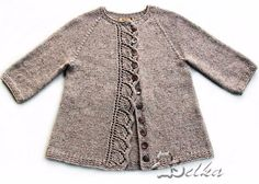 Ravelry: Project Gallery for Cove Cardigan pattern by Heidi May enfant Cove Cardigan pattern by Heidi May Baby Cardigan Knitting Pattern, Baby Knitting Patterns, Crochet Baby Booties, Knit Crochet, Crochet Hats, Knit Baby Sweaters, Knit Picks, Knitting For Kids, Knitting Projects