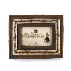 Big Sky Carvers Barbed Wire Picture Frame