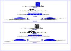 Engineering  et Architecture: Plan d'un Parc olympique en dwg