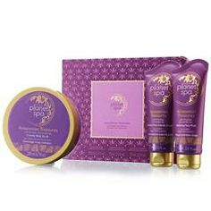 Mother's Day is next Sunday.  Moms need pampering.  Planet Spa Amazonian Treasures 3-Piece Gift Set for $29.  www.youravon.com/janamomof3