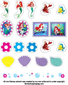 More printables for cupcake toppers