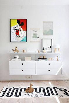 MICKEY Mouse Art, Walt Disney World, Bedroom Decor, Kids Wall Decal, Acrylic Painting, Ready to hang, Modern Art Painting, Room wallart de la boutique KathleenProFineArt sur Etsy