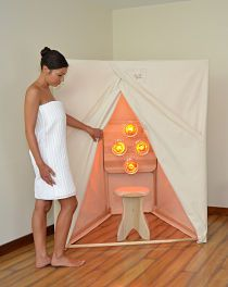 Exceptional Make Your Own Near Infrared Sauna | Near Infrared Sauna | Pinterest |  Infrared Sauna, Saunas And Fascia Blaster