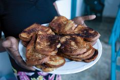 This July we are celebrating Milot, home of Hôpital Sacré Coeur! In this yummy pinboard, you'll see images of the many different types of foods people prepare in Milot, Haiti.