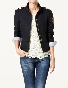I love how soft and feminine it is and then how the jacket brings an edgy feel to it!