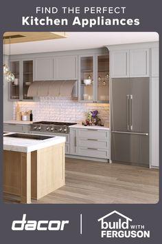 Kitchen Redo, Kitchen Backsplash, Kitchen Dining, Kitchen Remodel, Kitchen Cabinets, Kitchen Appliances, Beach House Kitchens, Cool Kitchens, Modern Kitchens