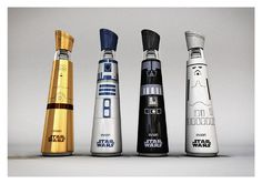 Evian Star Wars Water by Mandy Brencys -- S. Stewart and bottled water peeps. Clever Packaging, Water Packaging, Bottle Packaging, Mark Hamill, Packaging Design Inspiration, Creative Inspiration, Voss Bottle, Water Bottles, Bottled Water