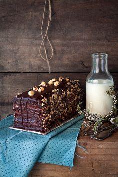 Κέικ σοκολάτα φουντούκι