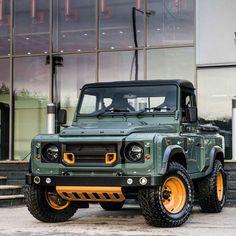 These Custom Land Rover Defenders Are Absolutely Insane - Airows Kahn Defender, Land Rover Defender, Cool Trucks, Cool Cars, Mini Trucks, Pickup Trucks, Kahn Design, Automobile, Offroader