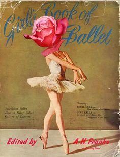 Vintage ballet book
