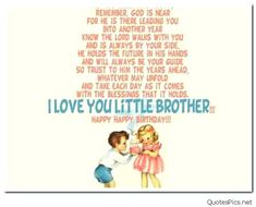 Happy Birthday Younger Brother Quotes Gifts For Funny Wishes Photos Sibling