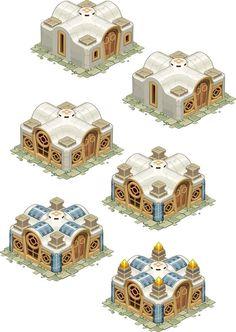 https://s-media-cache-ak0.pinimg.com/564x/32/67/e1/3267e17777c86c4ab18442026edd9f37.jpg Game Environment, Environment Concept Art, Building Concept, Building Design, Isometric Map, Prop Design, Game Design, Cartoon House, Casual Art