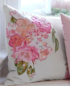 Ariadne at Home Sierkussen Hidden Garden pink aanbieding