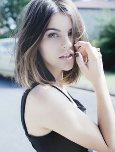 Great to see ombré on shorter hair. Very pretty.
