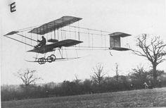 October 14, 1910: English aviator Claude Grahame-White lands his Farman biplane on Executive Avenue (now Pennsylvania Avenue) near the White House.
