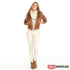¡Súper comfy! #ArmaTuOutfit #OggiJeans #Mexico #MyStyle #Moda #SienteElAzul #StreetStyle #DailyOutfit #OOTD #Denim #Jeans #Mezclilla