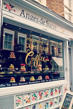 Anges de Sucre - best macarons in London! Photo by http://hellocuppies.com/2014/09/10/coffee-macarons-in-london/