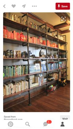 If you are looking for Industrial House Diy, You come to the right place. Here are the Industrial House Diy. This post about Industrial House Diy was posted under t. Industrial Pipe Shelves, Industrial House, Industrial Furniture, Industrial Design, Industrial Style, Industrial Lamps, Industrial Office, Wood Shelf, Plumbing Pipe Shelves