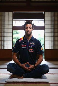 #F1 Pilot: Daniel Ricciardo at the Zenshoan Temple in Tokyo ahead of the 2014 Japanese Formula One Grand Prix @ Suzuka Circuit