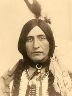 Chief Luther Standing Bear, 1904.