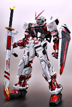 PG 1/60 Astray Red Frame - Painted Build Modeled by livese1 CLICK HERE TO VIEW FULL POST...