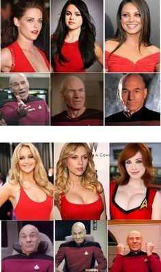 The Picard Scale Funny Jokes, Hilarious, Funny Sexy, Geek Humor, Dumb And Dumber, Trending Memes, Star Trek, Redheads, Hot Girls