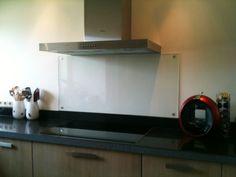 Keukentegels: géén, een wand van glas, Pin voor de Libelle Moodboard keukenwedstrijd  #libelle @Libelle