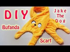 BUFANDA | JAKE THE DOG | ADVENTURE TIME / HORA DE AVENTURA | SCARF | DIY...