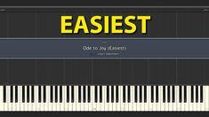 Ode to Joy EASIEST Piano Tutorial normal speed Piano Tutorials for Everybody Ode To Joy, Tutorial, Tech Companies, Company Logo, Logos, Logo
