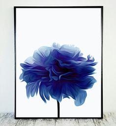 Royal Blue Printable Royal Blue Decor Printable by CristylClear