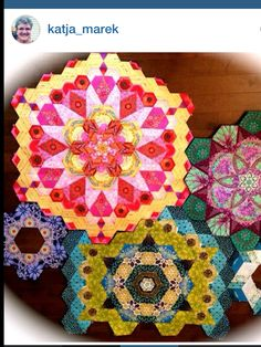 Grace and Favour: THE NEW HEXAGON--MILLEFIORE QUILT ALONG