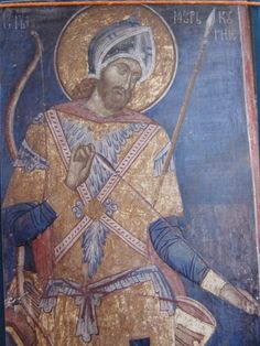 View album on Yandex. Byzantine Icons, Byzantine Art, Fresco, Saints And Soldiers, Church Icon, Serbia And Montenegro, Church Architecture, Orthodox Icons, Medieval Art