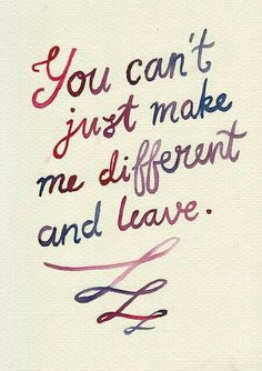 you can´t