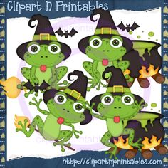 Lil Froggie Witches 2