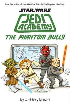 Its Roan's final year at Jedi Academy and he's looking forward to graduating, but but now someone is setting him up to get in trouble with everyone at school. If he doesn't find out who's framing him, Roan with flunk out! A hilarious graphic story great for fans of Star Wars and Wimpy Kid. (2015)