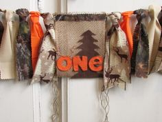 Deer Antler High Chair Banner Lumberjack First Birthday Woodland Highchair Garland Camo Orange Hunting Little Hunter Wild One Photo Prop Hunting Birthday, First Birthday Photos, Camping Parties, High Chair Banner, Oh Deer, Jute Twine, Deer Antlers, Wild Ones, First Photo